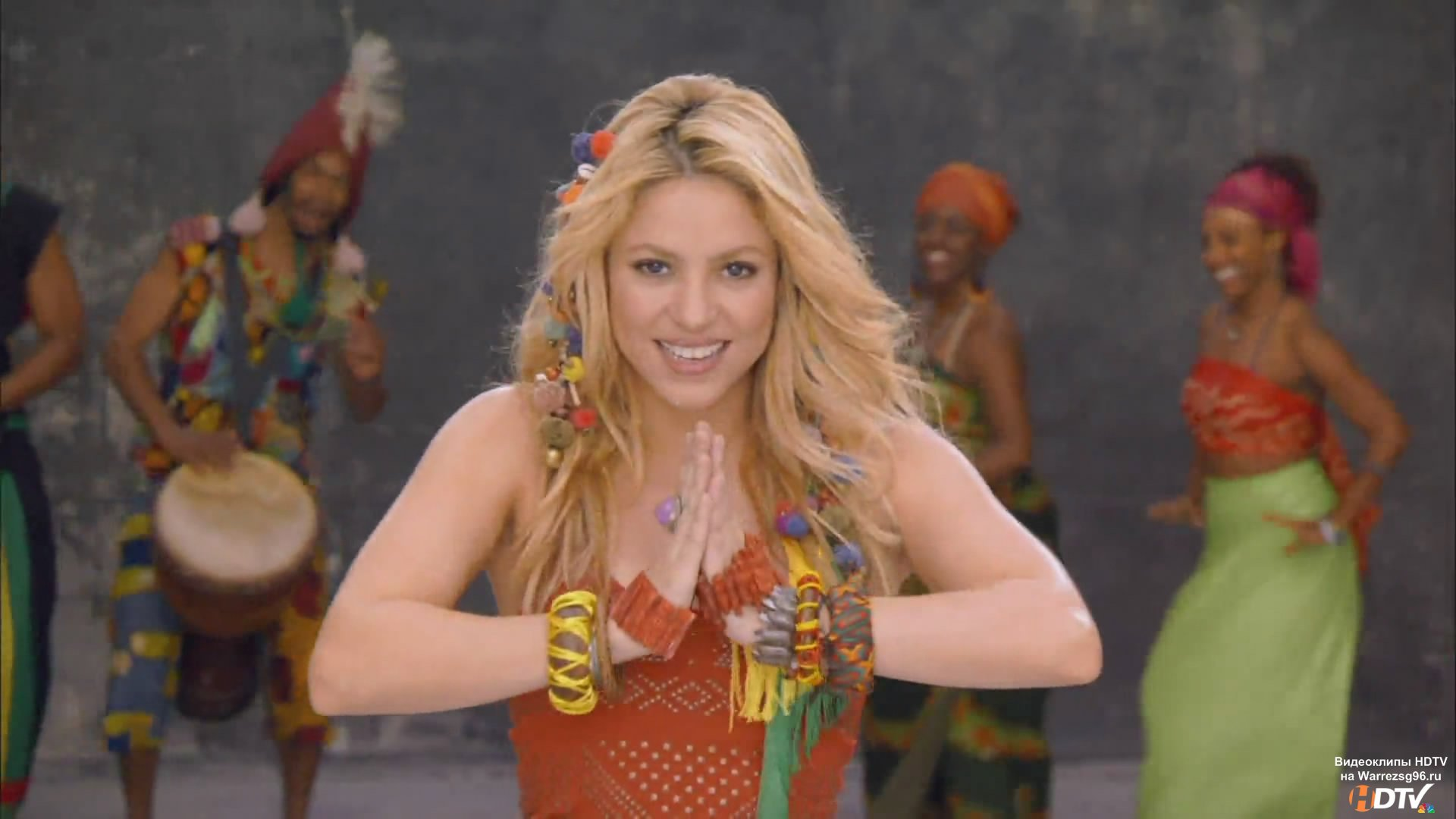 клип Shakira Waka Waka Full Hd 1920x1080 Thiis Time For