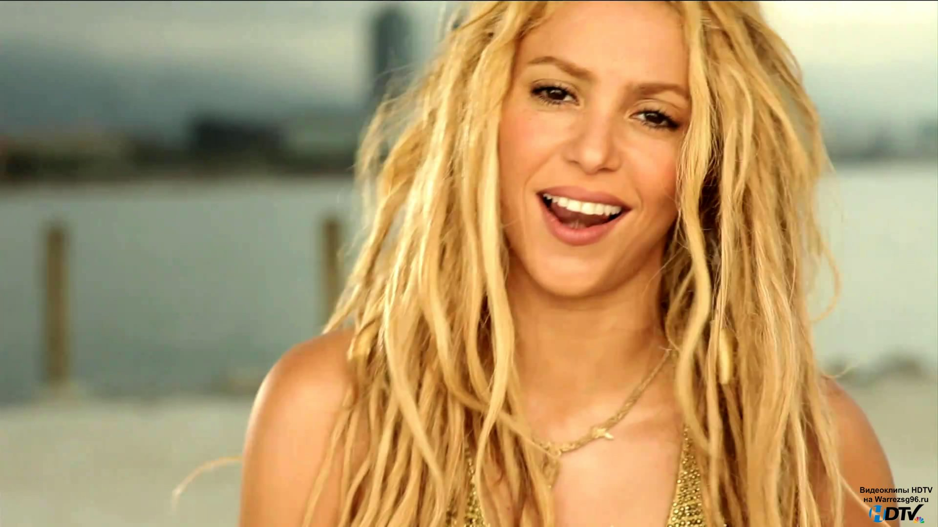 клип Shakira Loca Full Hd 1920x1080 музыкальные
