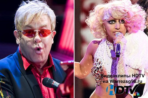 Клип (Live) Lady GaGa & Elton John - Medley Full HD 1920x1080 (The 52nd Annual Grammy Awards)