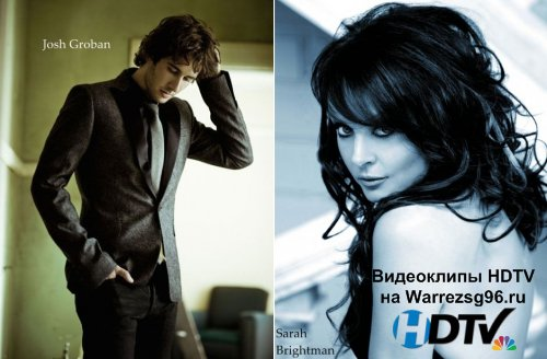 Клип (Live) Josh Groban & Sarah Brightman - All I Ask Of You Full HD 1920x1080