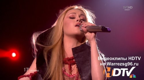Клип (Live) Alyosha - Sweet People HD 1280x720p (Ukraine) (Eurovision 2010)
