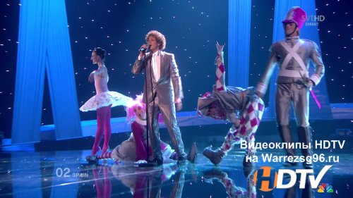 Клип (Live) Daniel Diges - Algo Pequenito HD 1280x720p (Something Tiny) (Spain) (Eurovision 2010)