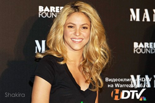 Клип (Live) Shakira - Whenever Wherever HD 1280x720p