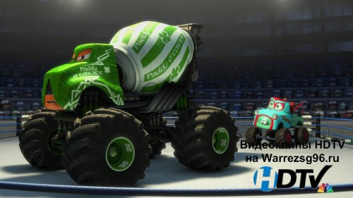Анимационный мультфильм 3D Mater's Tall Tales - Monster Truck Mater (Мэтр Ввеликий рестлер) Full HD 1920x1080p