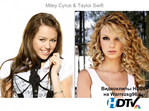 Клип (Live) Taylor Swift & Miley Cyrus - Performance Full HD 1920x1080p (51st Grammy Awards)