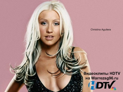 Клип Christina Aguilera - Something's Got A Hold On Me Full HD 1920x1080p