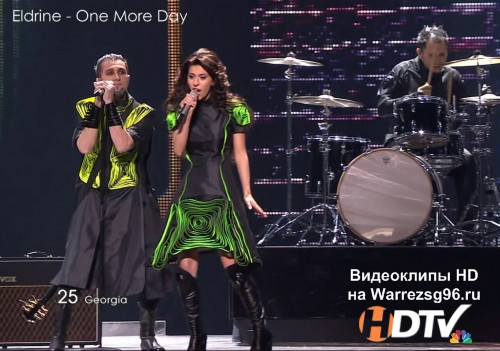 Клип (Live) 25 Eldrine - One More Day HD 1280x720p (Eurovision 2011) Georgia