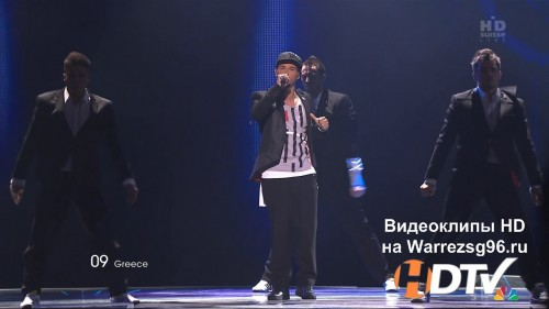 Клип (Live) 09 Loucas Yiorkas feat. Stereo Mike - Watch My Dance HD 1280x720p (Eurovision 2011) Greece