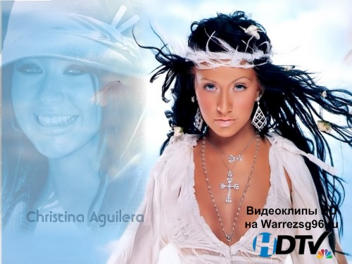 Клип Christina Aguilera - I Turn To You HD 1280x720p