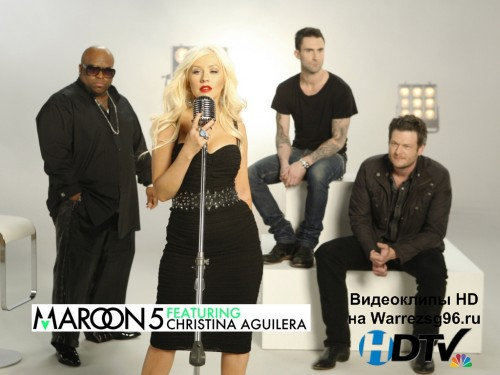 Клип Maroon 5 feat. Christina Aguilera - Moves Like Jagger Full HD 1920x1080p