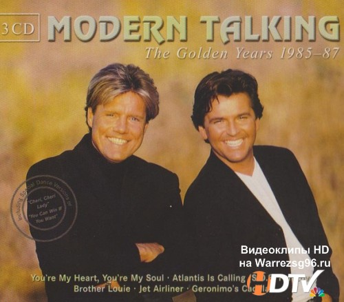 Modern Talking - The Golden Years 1985-87 3CD (2002) Lossless