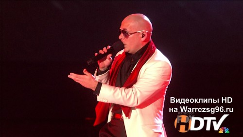 Клип (Live) Pitbull & Ne-Yo - International Love & Give Me Everything HD 1280x720p (Live The X Factor)