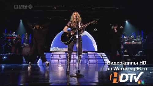 Клип (Live) Madonna - Miles Away Full HD 1920x1080p (Live)