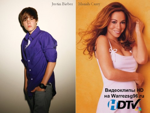 Клип Justin Bieber feat. Mariah Carey - All I Want For Christmas Is You Full HD 1920x1080p