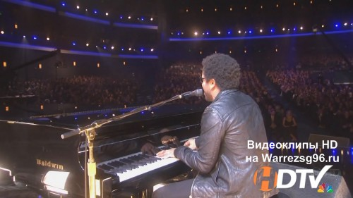 Клип (Live) Lenny Kravitz - Ill Be Waiting HD 1280x720p (Live at AMA)