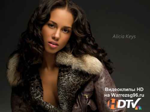 Клип Alicia Keys - Girl On Fire Full HD 1920x1080p