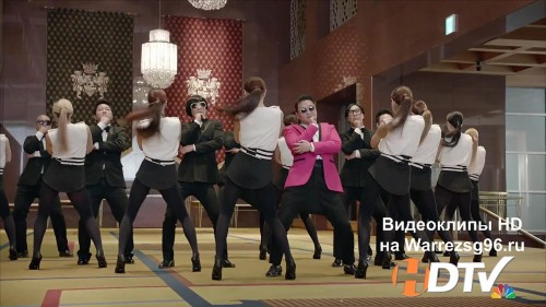 Клип PSY - Gentleman Full HD 1920x1080p