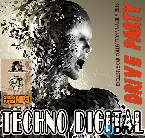 Techno Digital Drive Party (2015) MP3