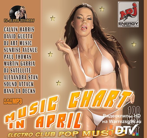 Electro Pop: Chart April Music (2015) MP3
