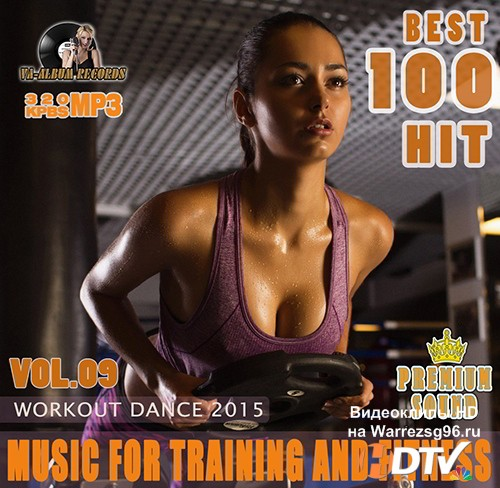 Music For Training And Fitness: Workout Dance Vol 09 (2015) MP3