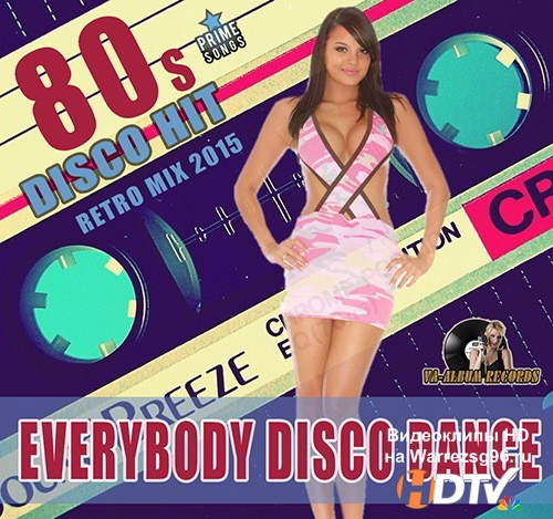 Everybody Disco Dance 80s (2015) MP3