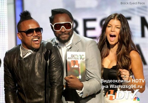 Клип (Live) Black Eyed Peas - Let's Get It Started HD 1440x1080 (BBC Later With Jools Holland)