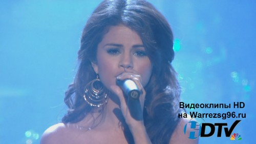 Клип (Live) Selena Gomez & The Scene - A Year Without Rain Full HD 1920x1080p (Live People's Choice Awards)