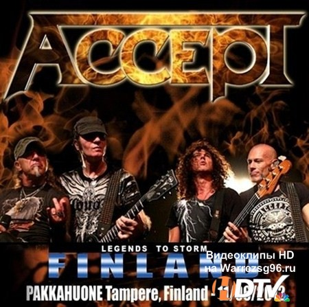 Accept - Live In Finland (2012) MP3