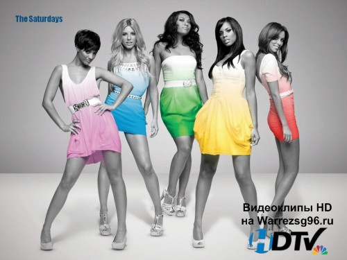 Клип The Saturdays - Not Giving Up Full HD 1920x1080p