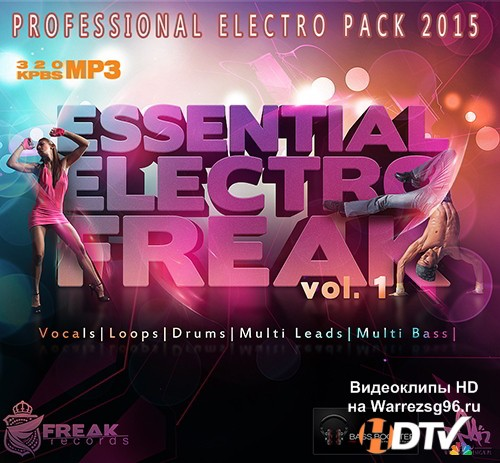 Essential Electro Freak vol 1 (2015) MP3